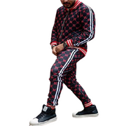 New Colorful 3D Print Tracksuit