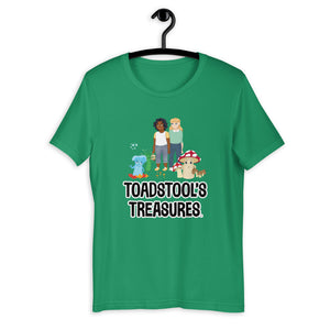 Toadstool's Treasures Gang Short-Sleeve Unisex T-Shirt