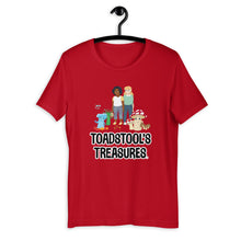 Load image into Gallery viewer, Toadstool's Treasures Gang Short-Sleeve Unisex T-Shirt