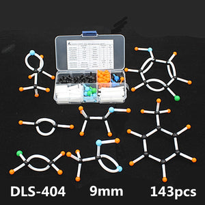 Small Organic Chemistry Molecular Model Kit for Students 143pcs/set