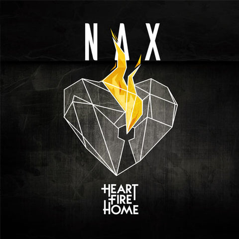 Nax' Solo CD 'Heart Fire Home' (2017)