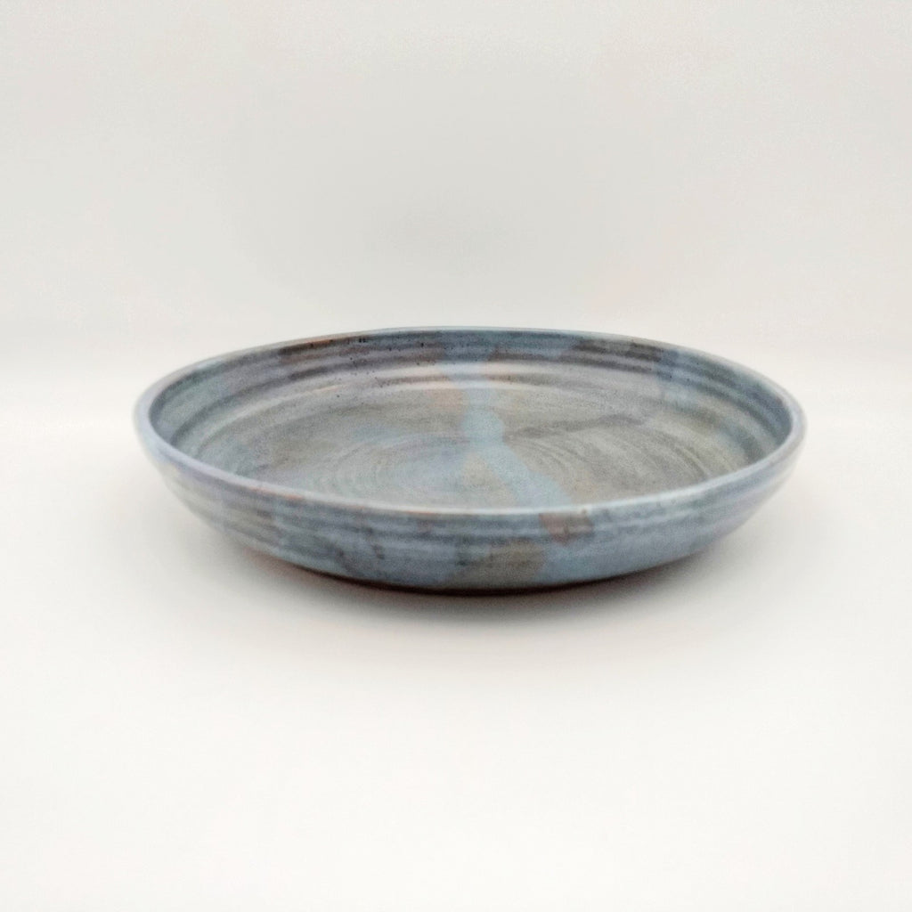 Handmade Pottery Pasta Serving Bowl - Oyster