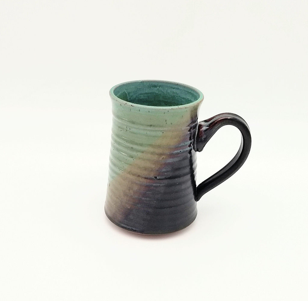 Handmade Pottery Beer Stein - Sushi