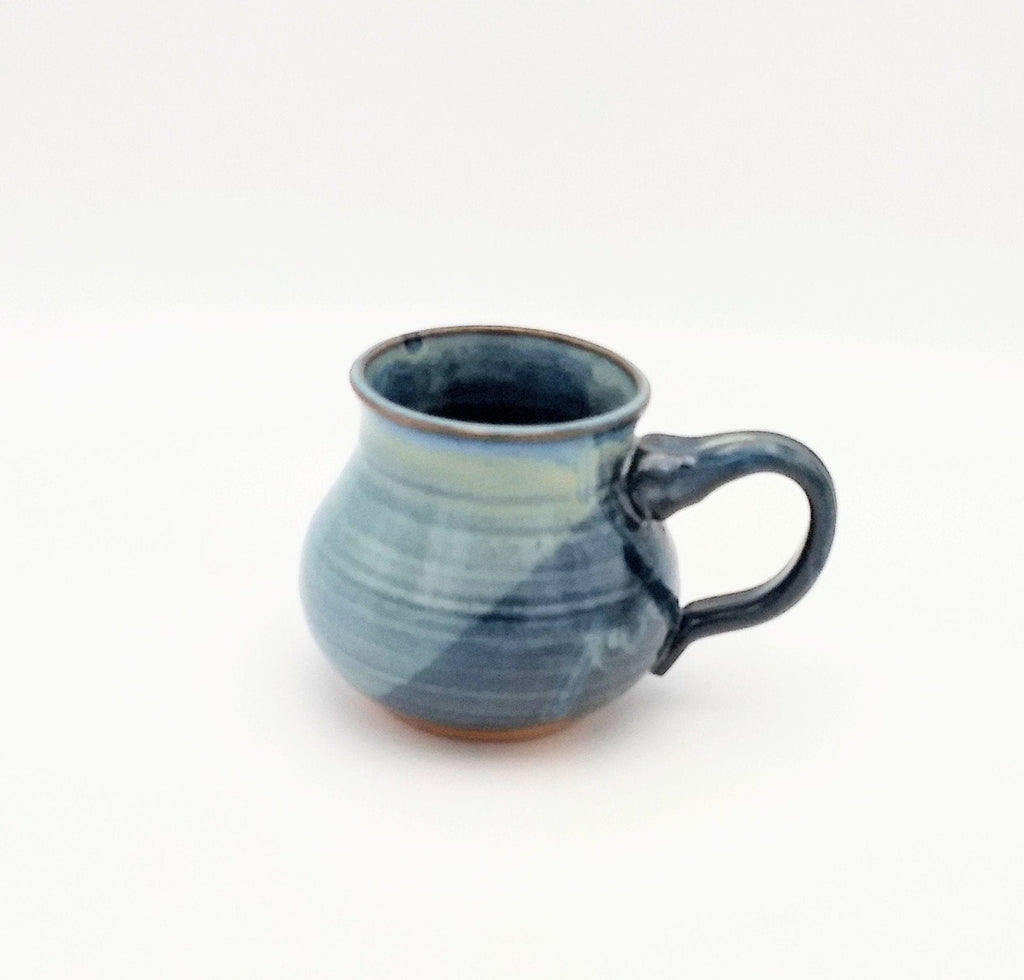 Handmade Pottery Mug - Cozy Up, Blue Cheese