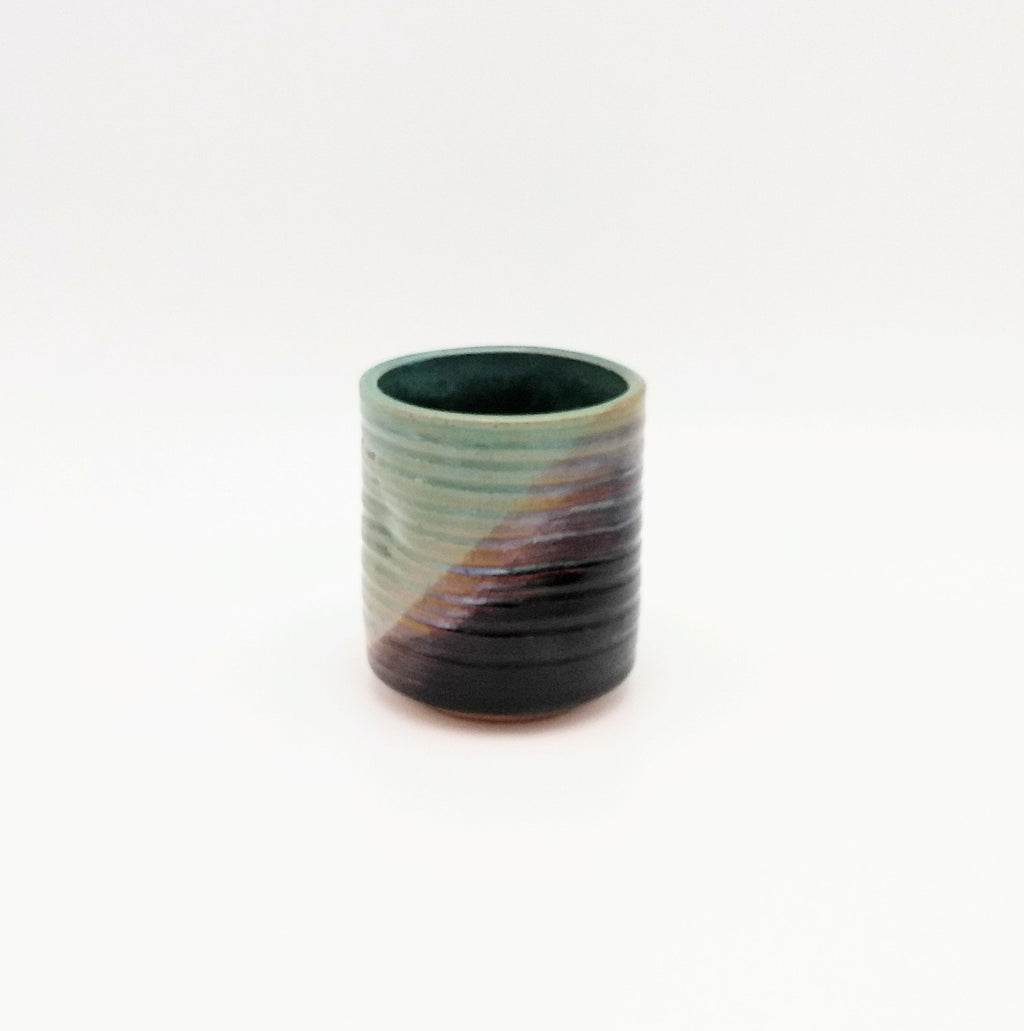 Handmade Pottery Juice Glass - Sushi