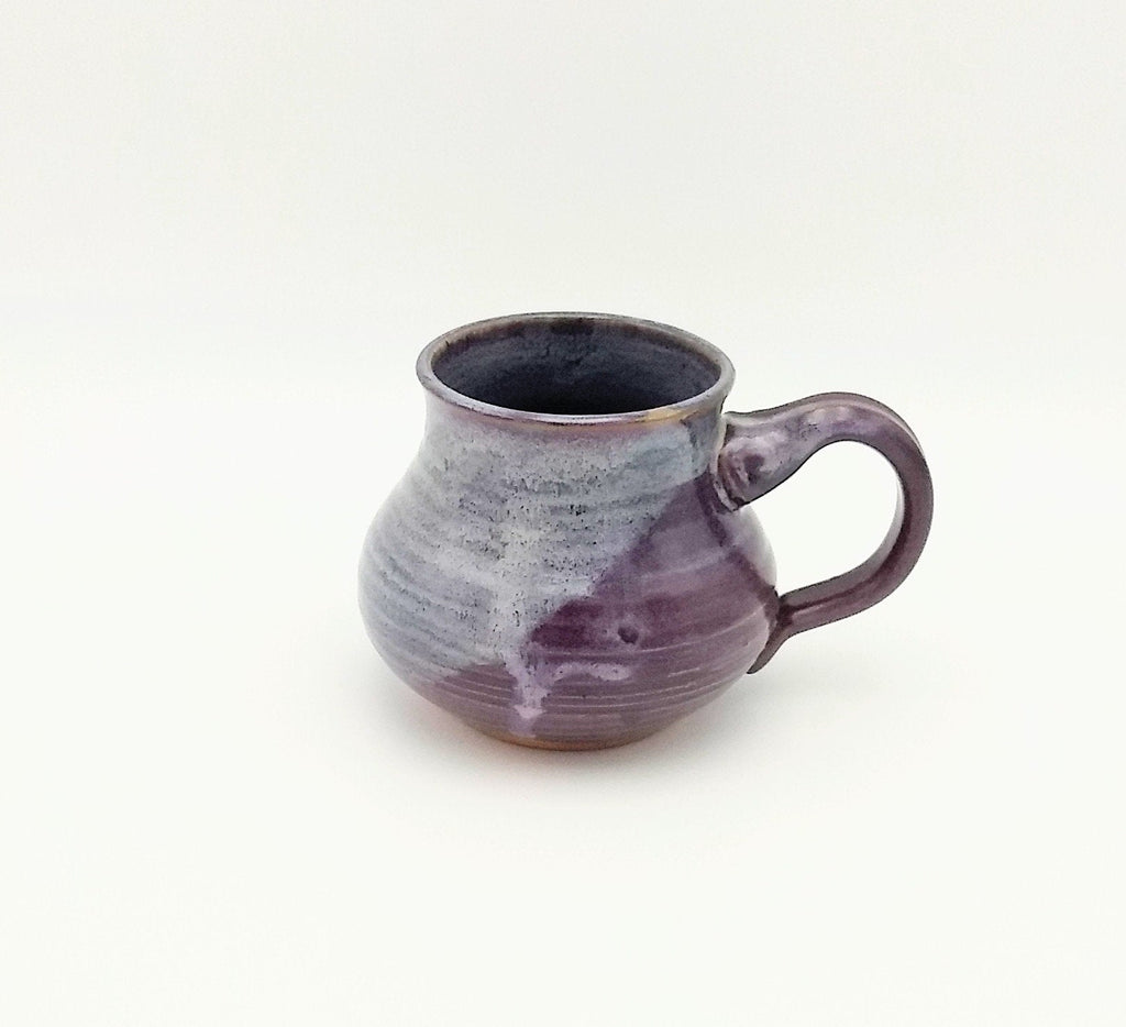 Handmade Pottery Mug - Cozy Up, Eggplant