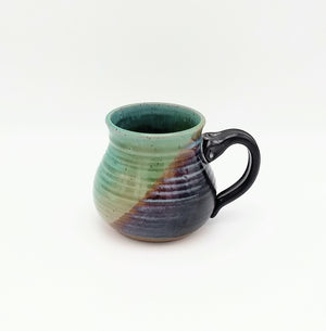 Handmade Pottery Mug - Cozy Up, Sushi