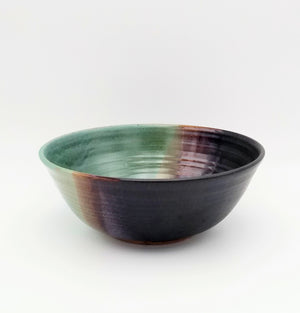 Handmade Pottery Serving Bowl - Sushi