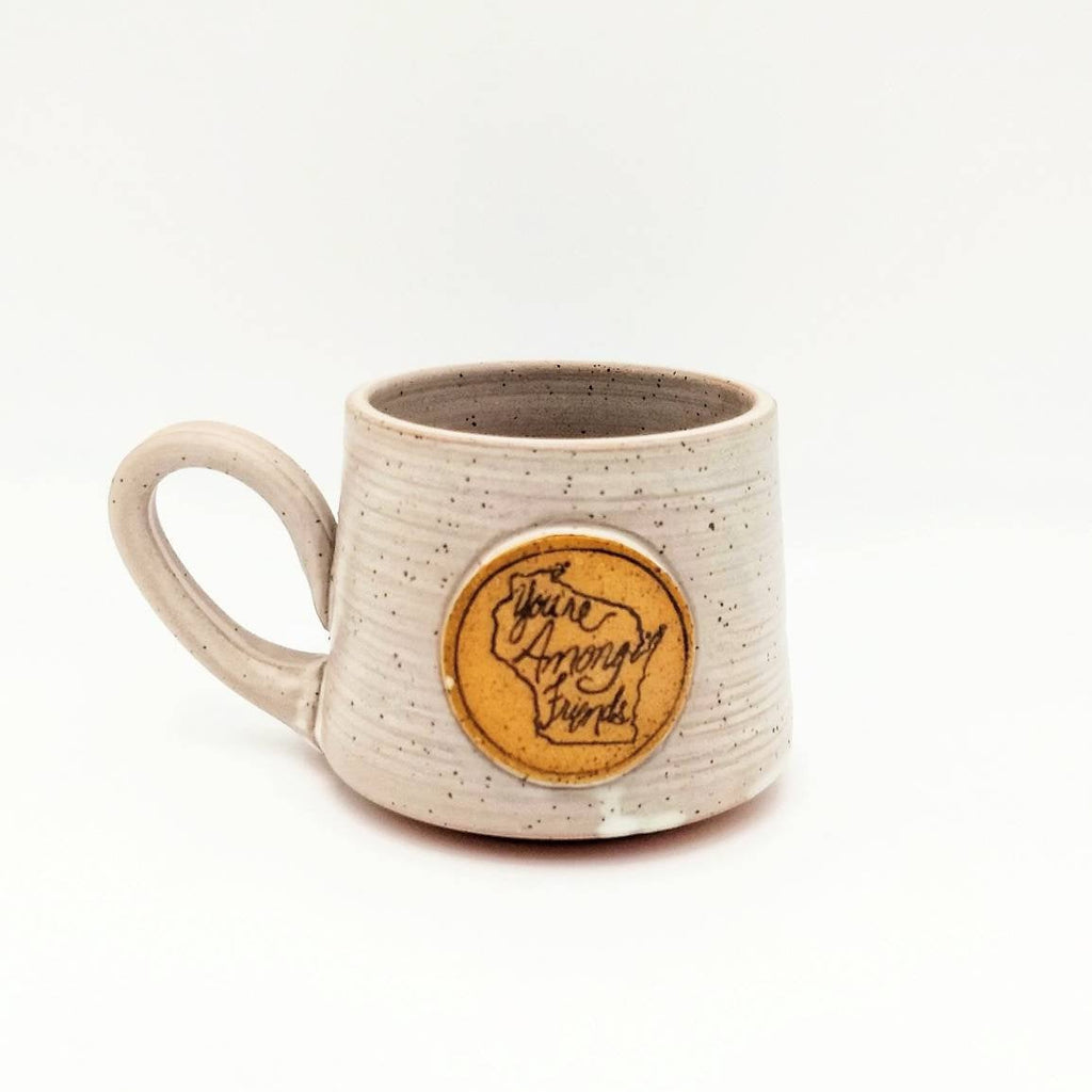 "STATEment Mug - Wisconsin ""You're Among Friends"""
