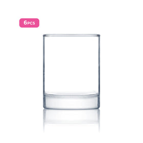 Luminarc 6pcs Plain Islande Lowball Water & Juices Glass