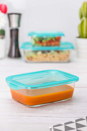 Luminarc 1 Piece KeepN Rectangular Food Container - 82cl