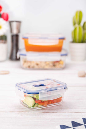 Luminarc 1 Piece Purebox Active Rectangular Food Container - 38cl