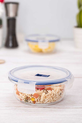 Luminarc 1 Piece Purebox Active Round Food Container - 67cl
