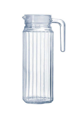Luminarc 1 Piece Quadro Jug with Lid - 1.3L