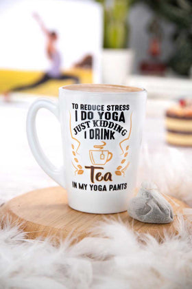 Luminarc 1 Piece Decorative Tea Yoga - Quotes Mug