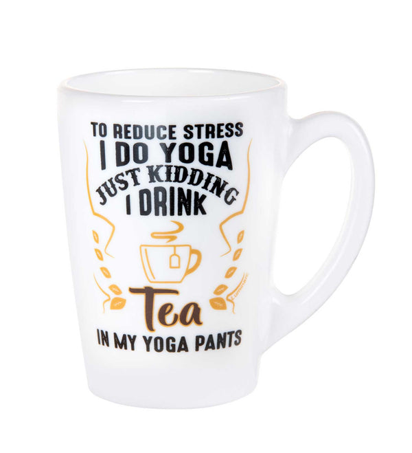 Luminarc Decorative Yoga Quotes Mug