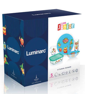 LumiJunior Vitamin Power Set - 5pcs