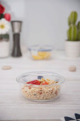 Luminarc 1 Piece Purebox Active Round Food Container - 42cl