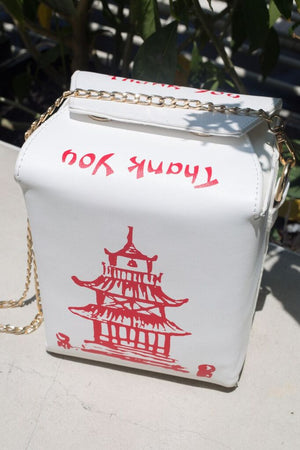 Chinese carry-out purse