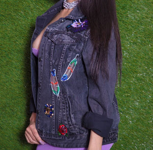 Bejeweled Denim Jacket