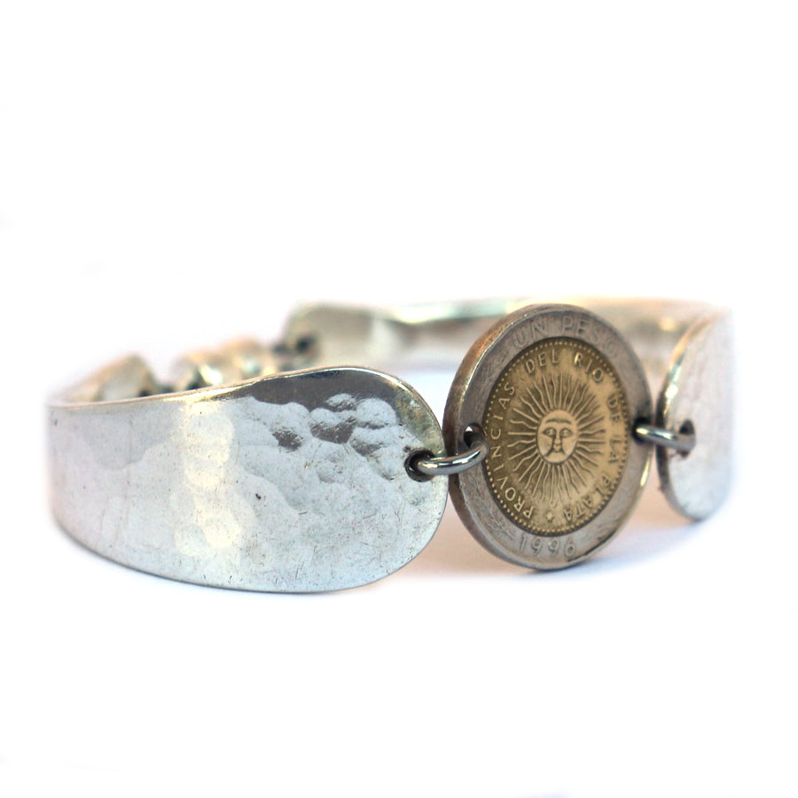 Antique Coin Bracelet