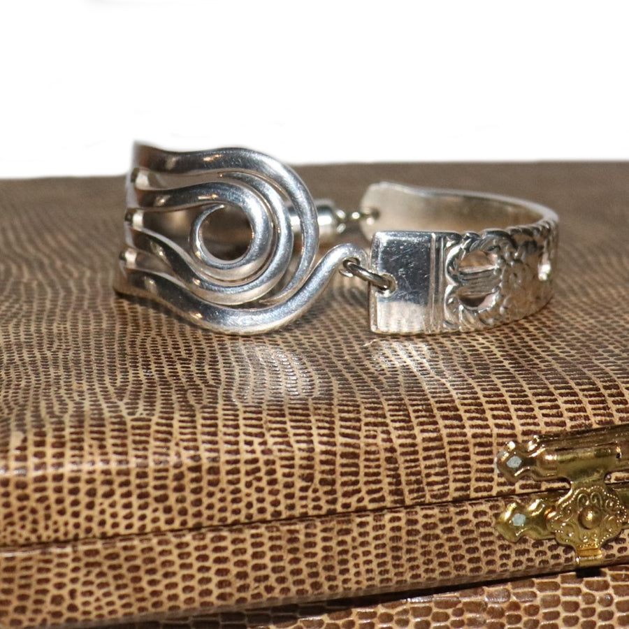 Antique Fork and Handle Bracelet