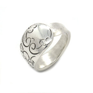 Antique Jasmine Spoon Handle Ring
