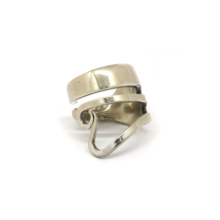 Antique Fork Love Ring