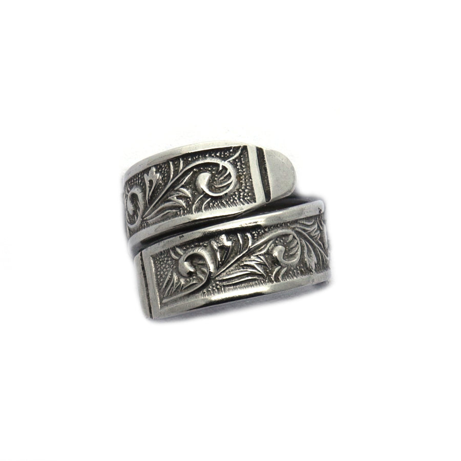 Stainless Steel Antique Spoon Ring