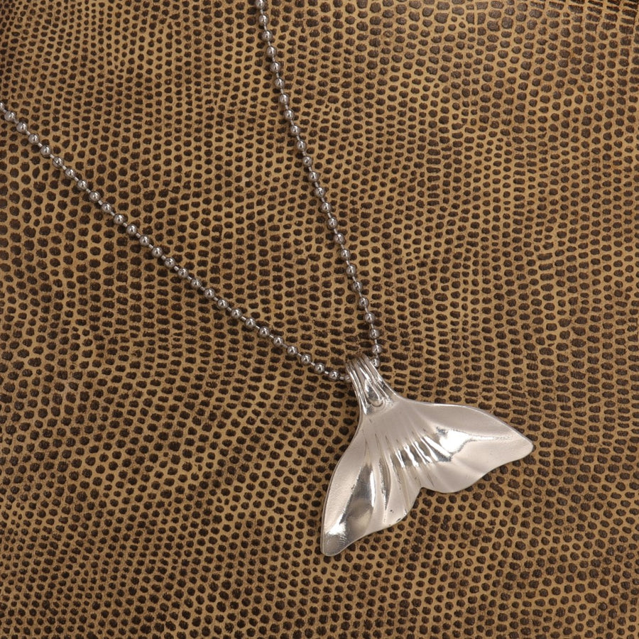 Whale Tail Shell Spoon Pendant