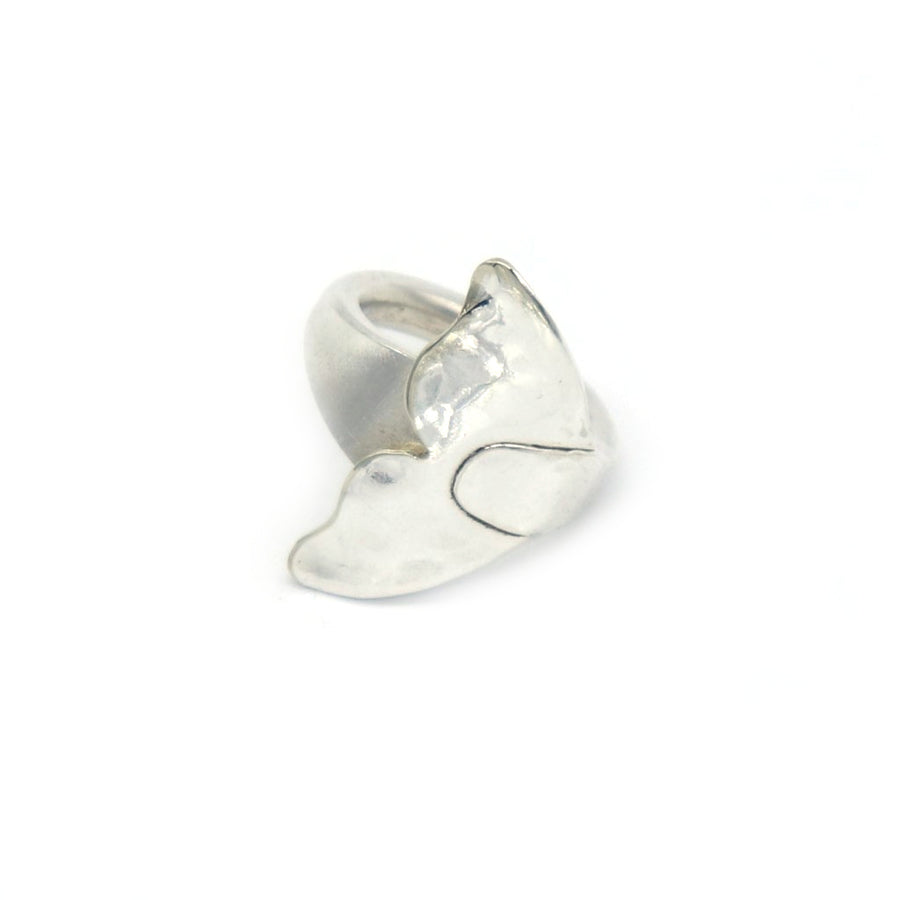 Whale Tail Fluke Ring