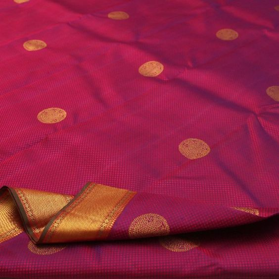 Sacred Seeds and Beads – the Rudraksha Motif on Handwoven Sarees