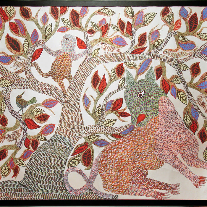 Of Lines and Dots -The Gond Art