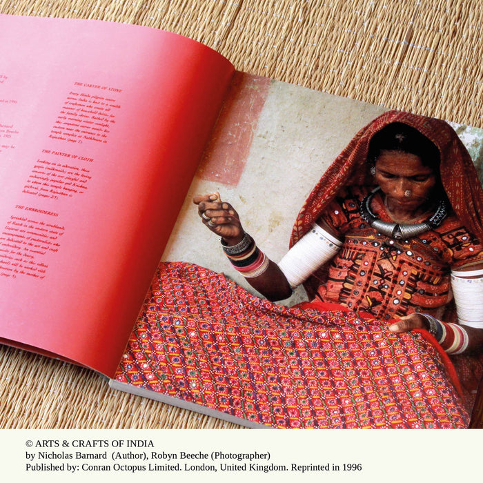 From the Sarangi Library - Arts & Crafts of India by Nicholas Barnard