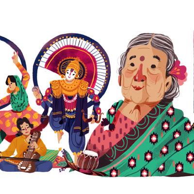 Google Celebrates Kamaladevi Chattopadhyay's Birthday with a Doodle
