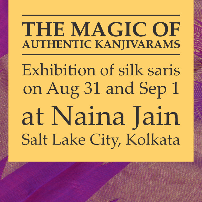 Silk Saree Exhibition at Kolkata by Sarangi