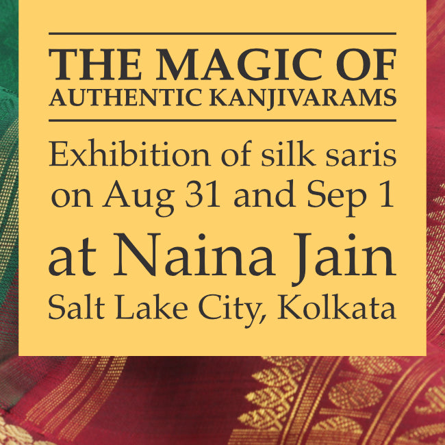Sarangi presents 'The Magic of Kanjivarams' to silk saree lovers in Kolkata
