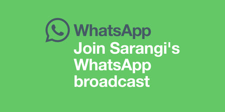 How to Join the Sarangi WhatsApp Broadcast List