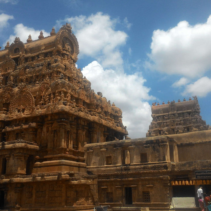 The Brihadeesvara Temple, a supreme example of Chola architecture