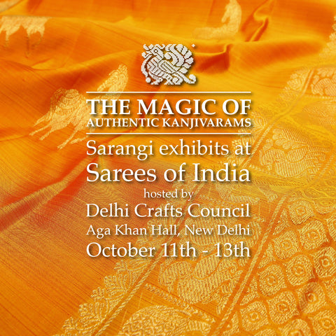 Kanjivaram Silk Sarees Exhibition in Delhi | Sarees of India 2018