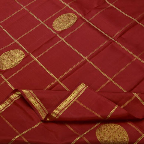 Red colored evening wear saree