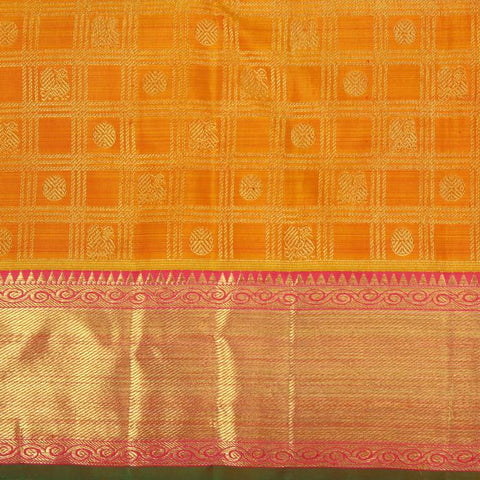 Saree with Bavanji Border