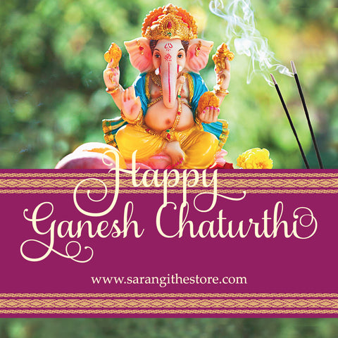 Ganesha is the lord of power and wisdom. He is worshipped first before any auspicious work.