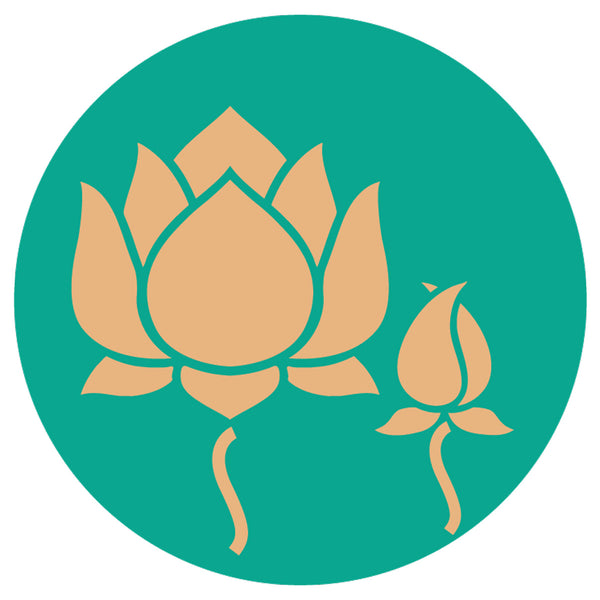 Sketch of a Lotus Motif