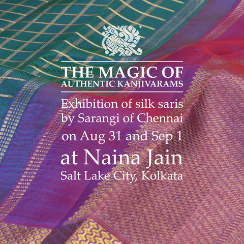 Sarangi Silk Saree Exhibition in Kolkata