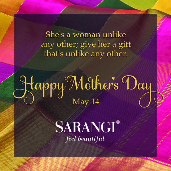 Sarangi greets you and wishes you a Happy Mother's Day.