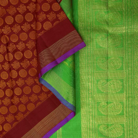 The main image of a Patli pallu saree
