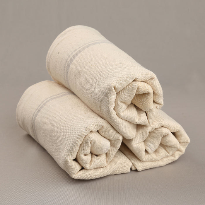Kaskom Handwoven Organic Cotton Towel (Set of 3) - 1475193OWH-3