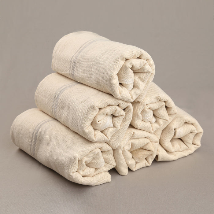 Kaskom Handwoven Organic Cotton Towel (Set of 6) - 1475193OWH-6