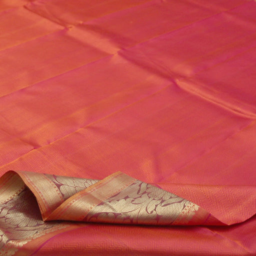 (THE IMPERFECTS) Sarangi Handwoven Kanjivaram Silk Sari - 120124261